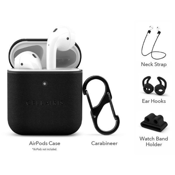 Picture of AirPod Black Cases - CELLAIRIS