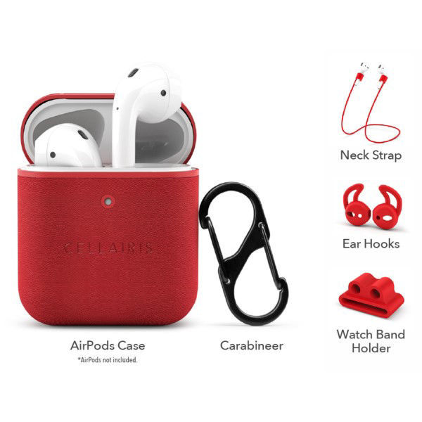Picture of AirPod Red Cases - CELLAIRIS