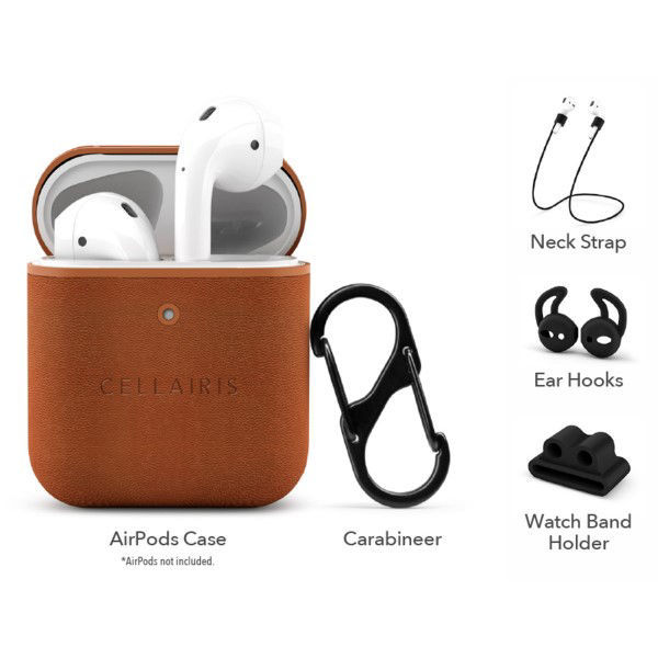 Picture of AirPod Brown Cases - CELLAIRIS