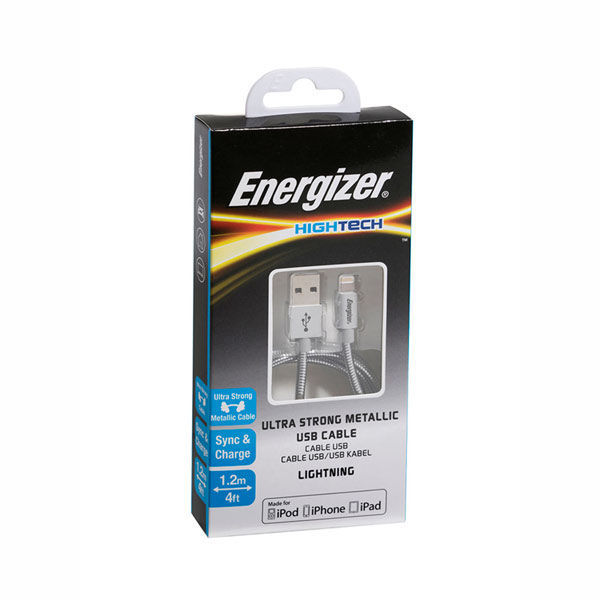 Picture of Alu Steel Lightning 1.2 M Cable - Energizer