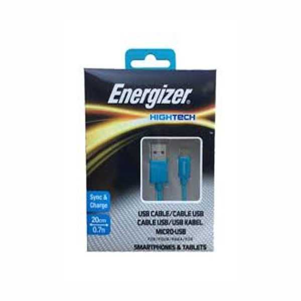 Picture of MICRO USB POCKET CABLE 20CM  - ENERGIZER