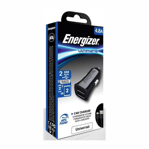 Picture of Car Charger  2USB + USB-C2.0 Cable - Energizer