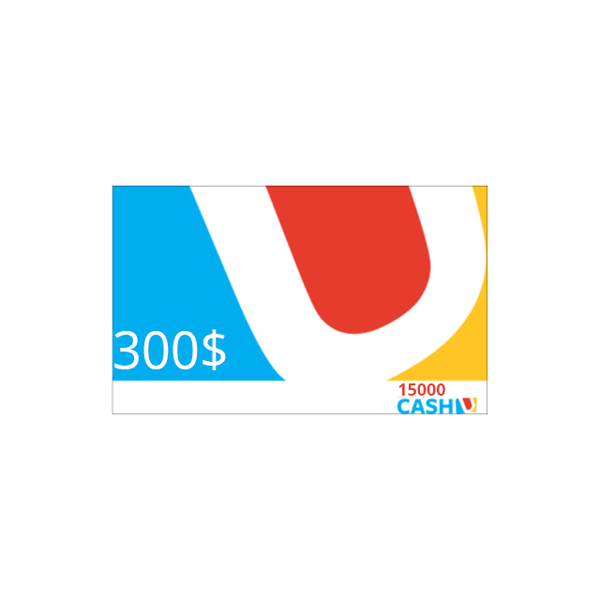 Picture of CashU Card 300 USD