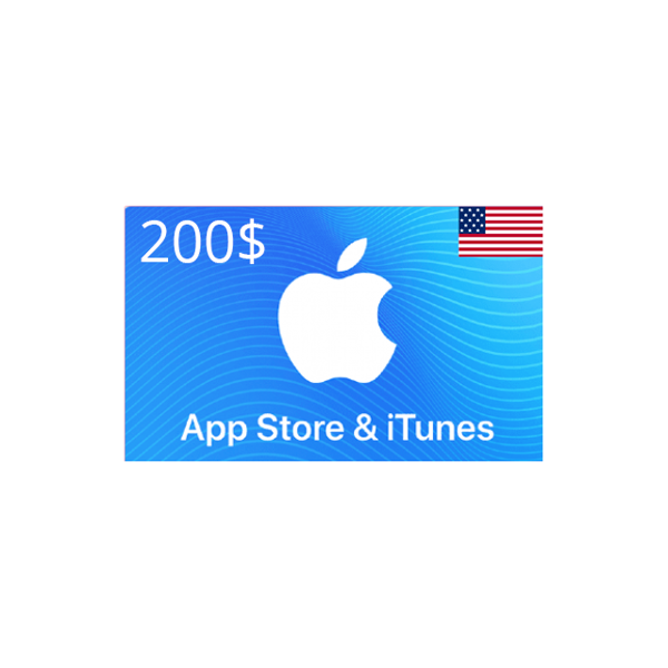 Picture of iTunes USA 200 USD - Apple iTunes