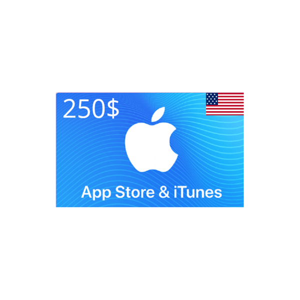 Picture of iTunes USA 250 USD - Apple iTunes