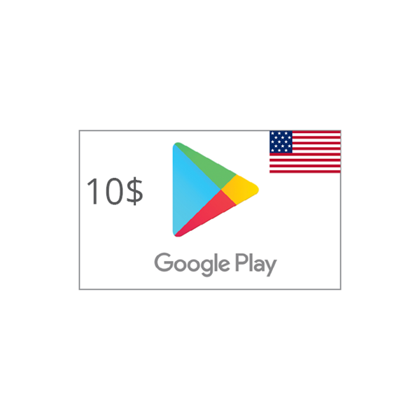 Picture of Google Play USA 10 USD - Google Play