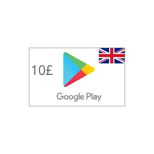 Picture of Google Play UK 10 GBP - Google Play
