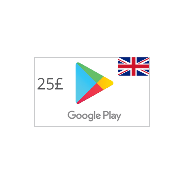 Picture of Google Play UK 25 GBP - Google Play
