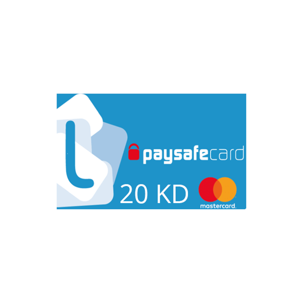 Picture of PaysafeCard 20 KWD