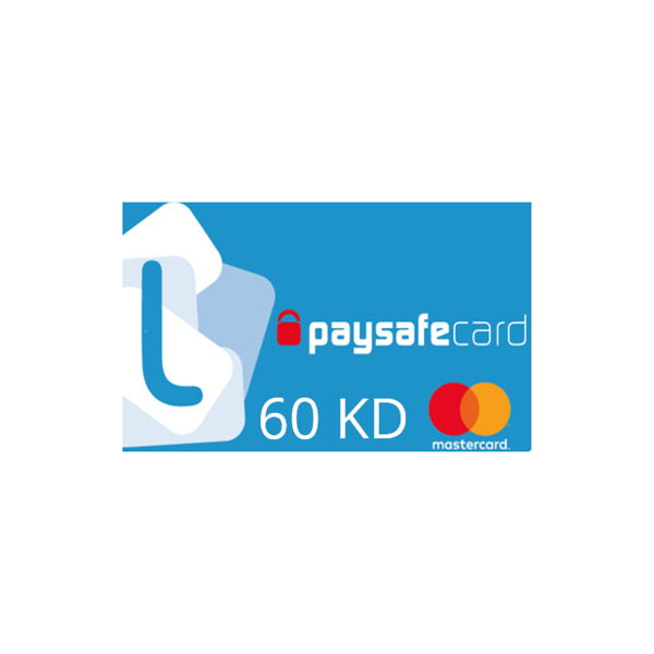 Picture of PaysafeCard 60 KWD