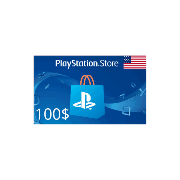 Picture of Playstation Card - USA 100 USD