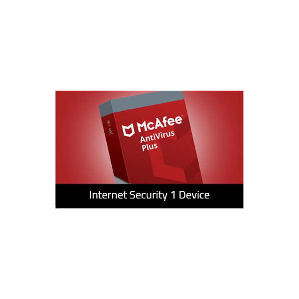 Picture of McAfee Internet Security 1 Device -McAfee