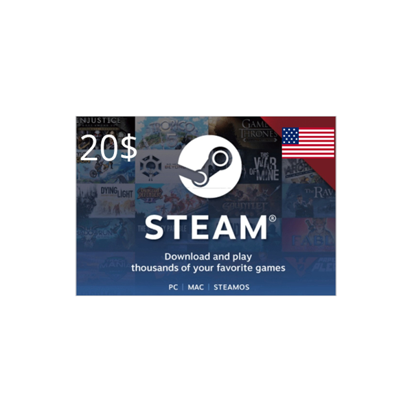 Picture of Steam 20 USD