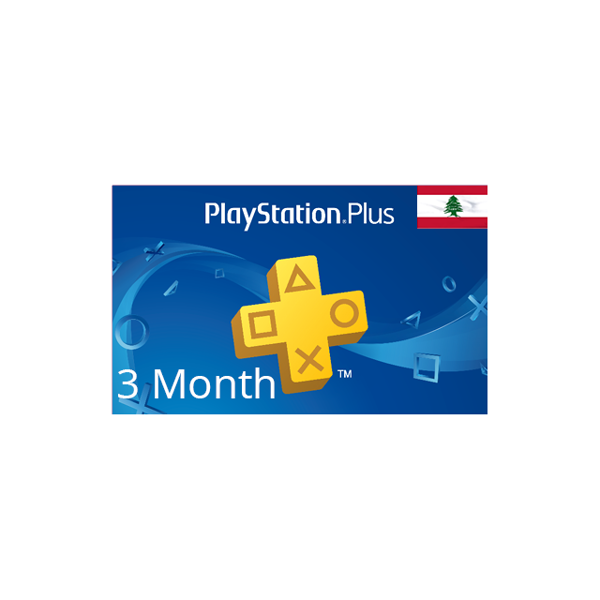 Picture of Playstation Plus - Lebanon 3 Month