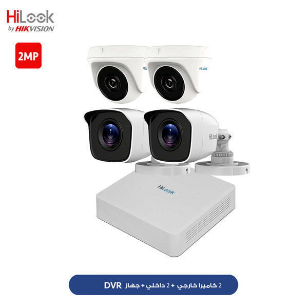 HiLooK 4CH 2MP KIT HLNH-204