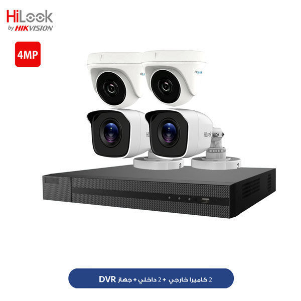 HiLooK 4CH 4MP KIT HLNH-404