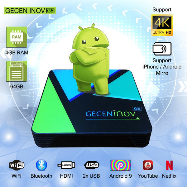 NHE GECEN inov G5 -TV Box
