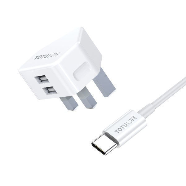 Picture of Pure Series Dual USB Wall Charger - TOTULOFE