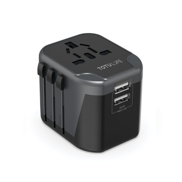 Picture of Universal Travel Adapter Dual USB Wall Charger - TOTULOFE