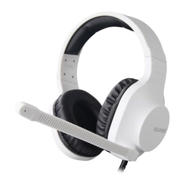 Picture of Sades Spirits Wired Gaming Headset - White