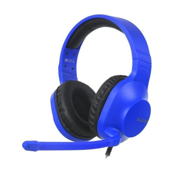 Picture of Sades Spirits Wired Gaming Headset - blue