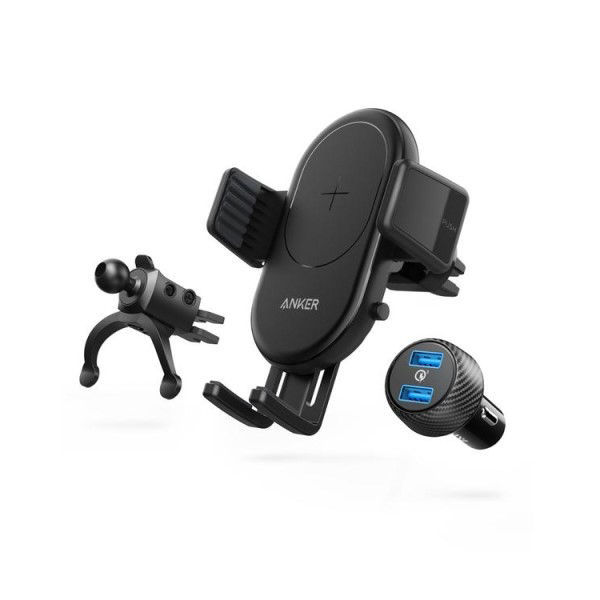 Picture of Anker PowerWave 7.5 Car Mount Wireless Charger -Black