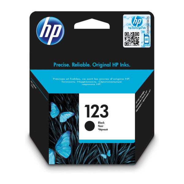 Picture of hp ink 123 black
