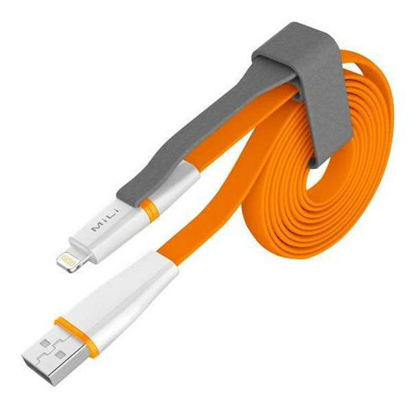 Picture of Mili HI-L12_2 in 1 Lightning & Micro USB Cable_Grey
