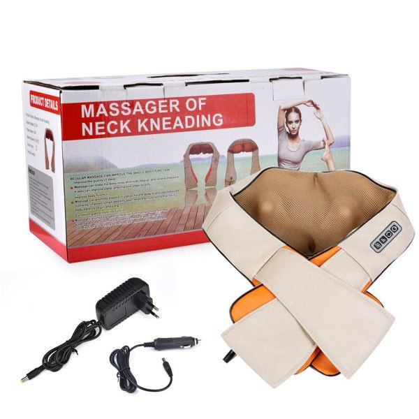 Picture of massage of neck kneading