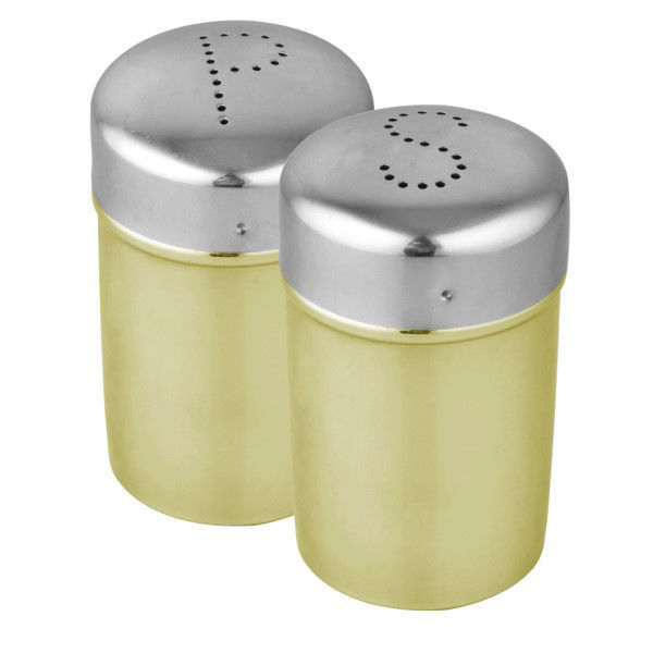 Picture of STAINLESS STEEL SALT & PEPPER 2PC SET