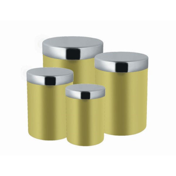 Picture of STAINLESS STEEL SUPREME CANISTER 4PC SET
