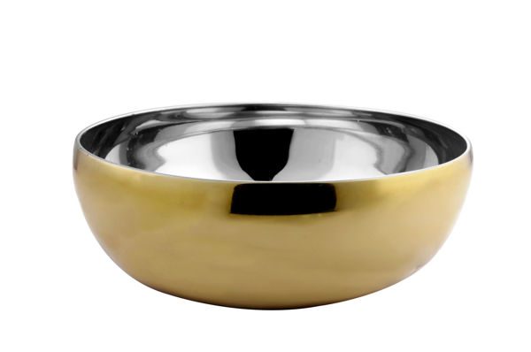 Picture of STAINLESS STEEL BELGIAN BOWL 24CM